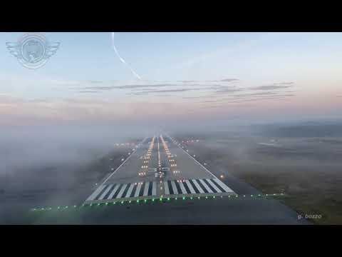 Espectacular Aterrizaje Desde