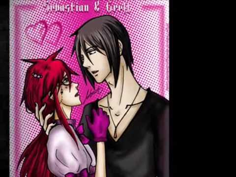 kuroshitsuji black butler grell x sebastian kiss you