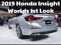 2019 Honda Insight Hybrid - The Worlds 1st Look