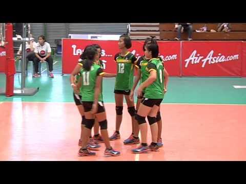 วอลเลย์บอลยุวชนแอร์เอเชีย รอบชิงชนะเลิศ ภาคนครหลวง ทีมชาย + ทีมหญิง 2558-12-28