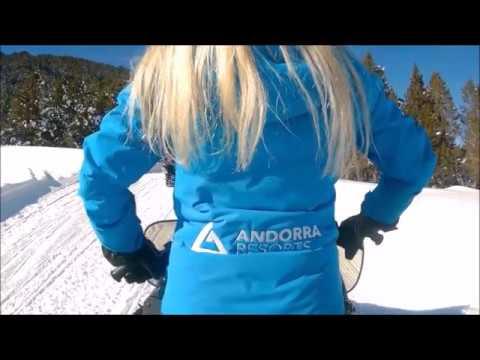 The Andorra Resorts team went Snowmobiling in Grau Roig!