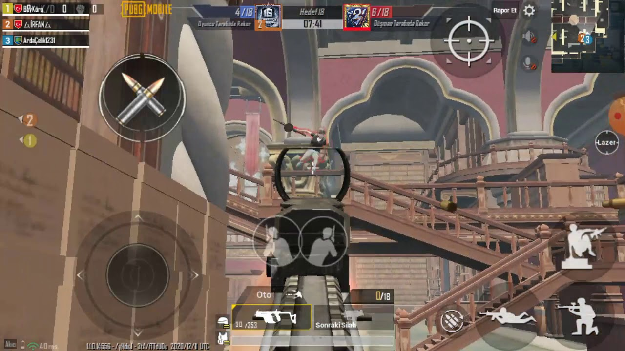 TEAM GUN MOD YARGI DAĞITTIK / PUBG Mobile