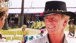 Mick Dundee Hits Vence Beach | Crocodile Dundee In Los Angeles | SceneScreen