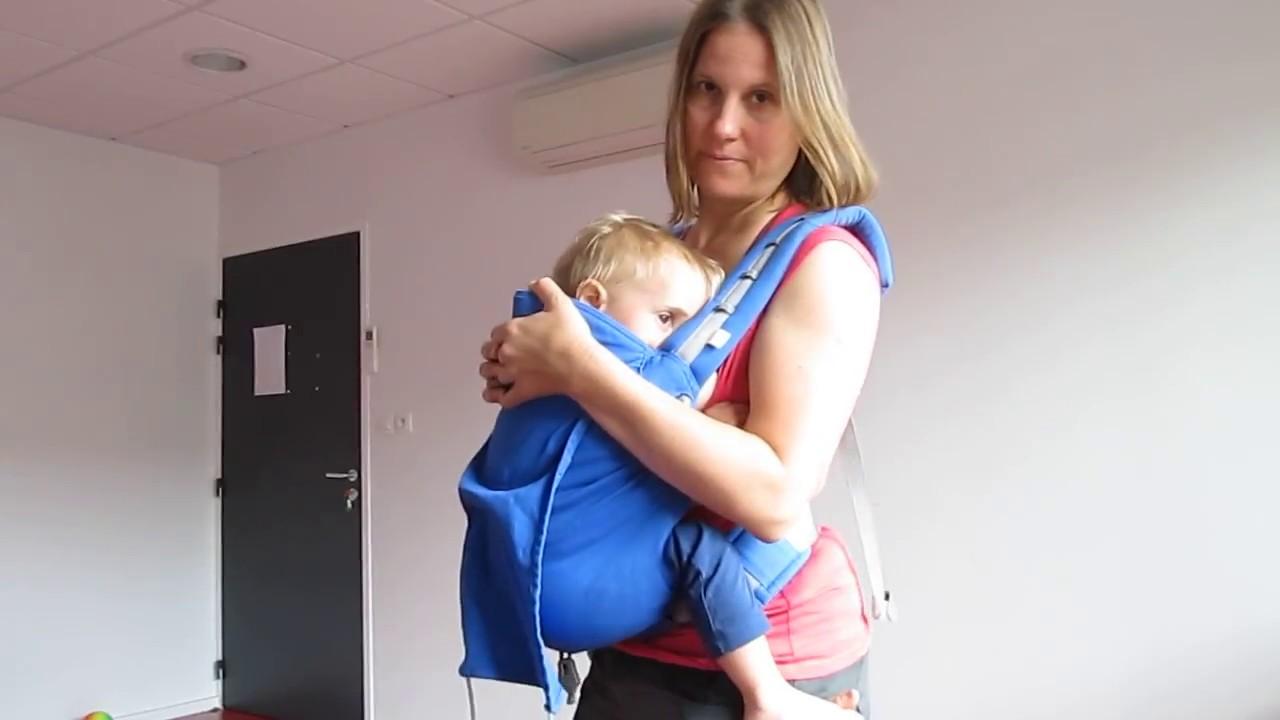 d03b62b3de3c allaitement en porte bébé p4 (ling ling amour) - YouTube