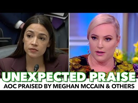 AOC Praised By Meghan McCain And Other Conservatives