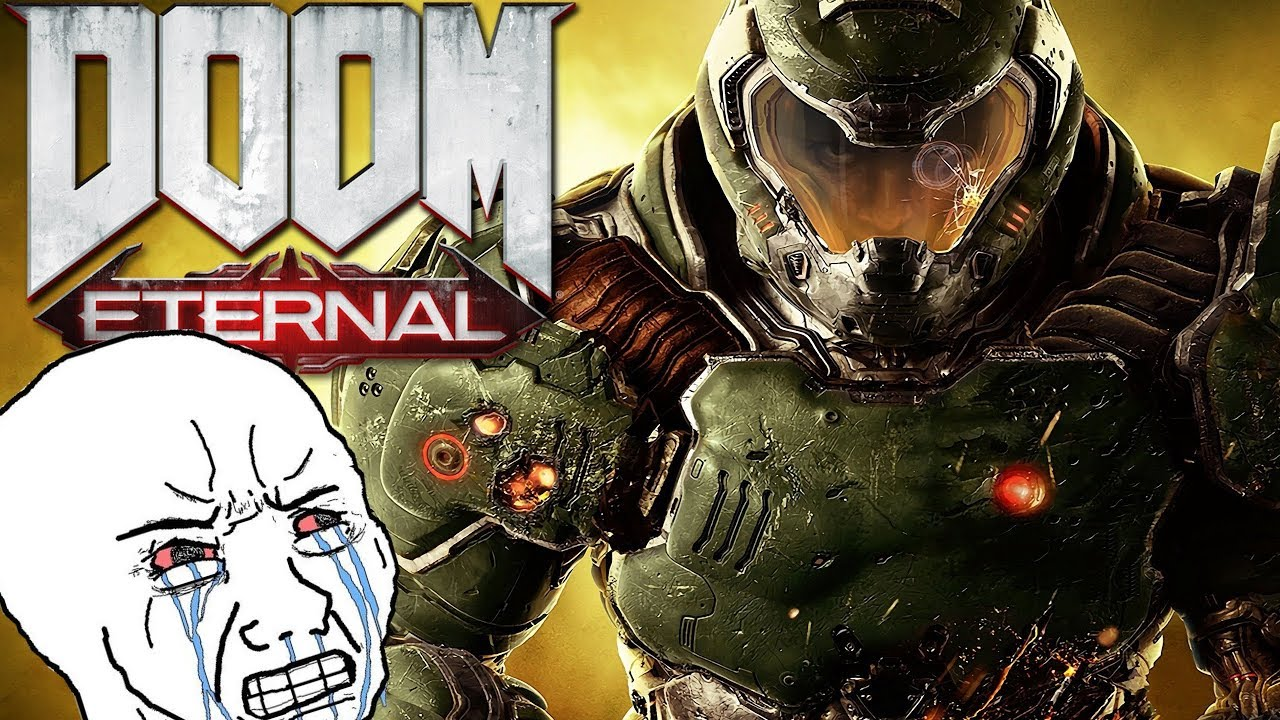 """DOOM and DOOM Eternal are """"Boring Because They Have No Story"""" thumbnail"""
