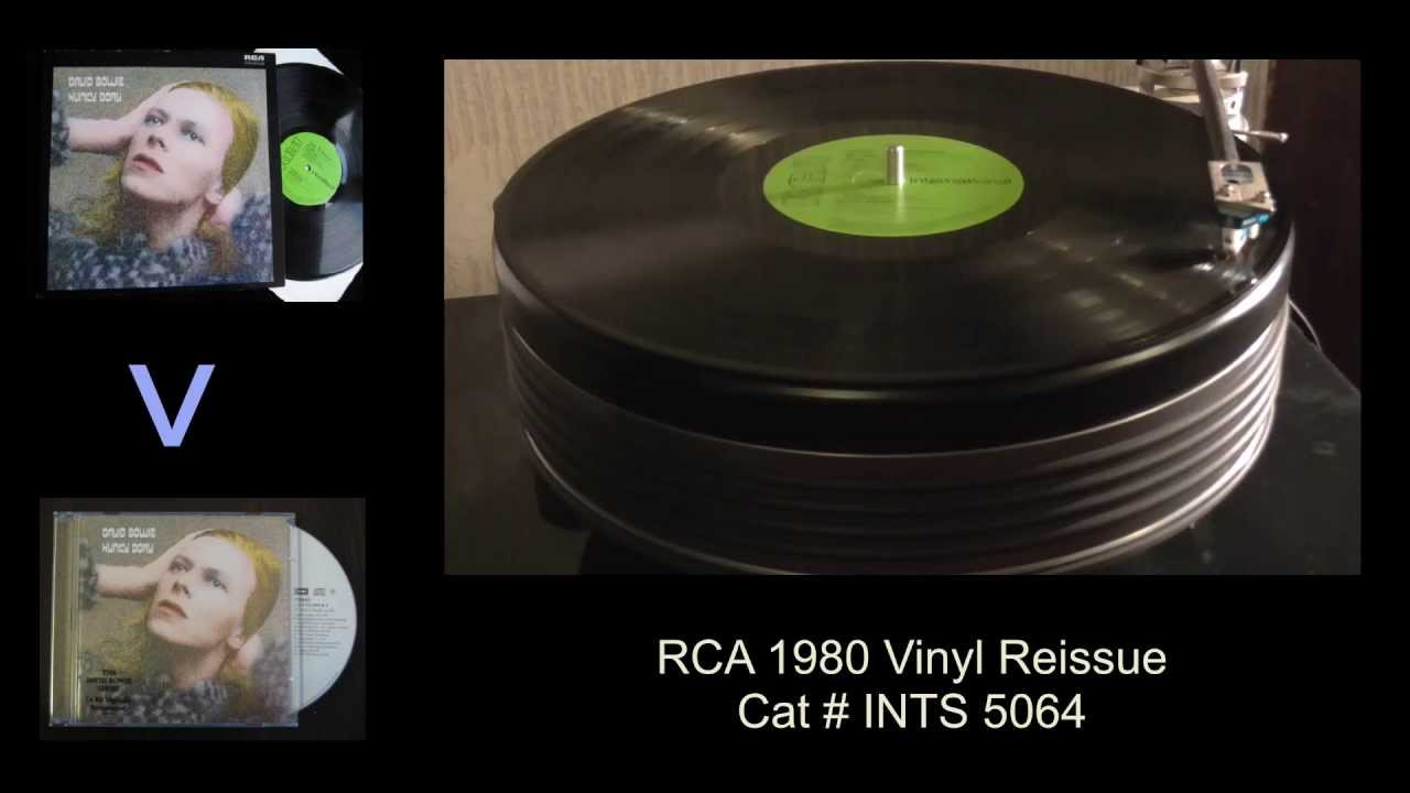 david bowie changes hunky dory 1971 vinyl vs cd youtube. Black Bedroom Furniture Sets. Home Design Ideas