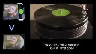 David Bowie - Changes - Hunky Dory (1971) - Vinyl vs CD