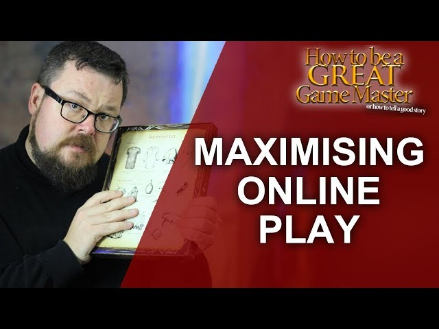 Great GM: Making online roleplaying as awesome as possible - Game Master Tips TTRPG GM Tips