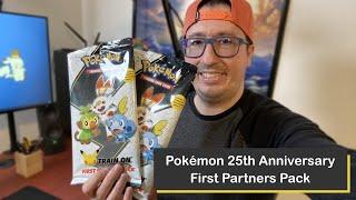 Pokémon Galar Region 25th Anniversary Jumbo Packs