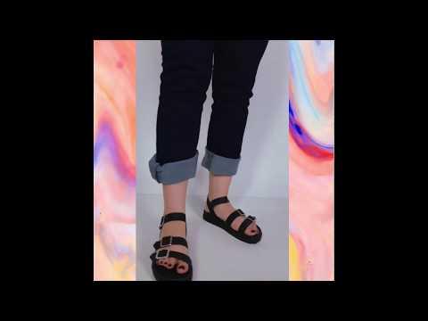 RITA sandália - preto (vegan)
