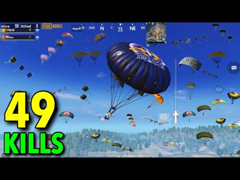 NEW WORLD RECORD!!! | 49 KILLS PUBG MOBILE