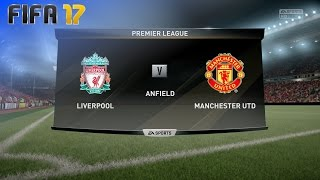 FIFA 17 - Liverpool vs. Manchester United @ Anfield (XL Match)