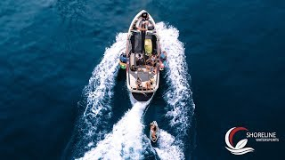 WAKESURFING WITH SHORELINE WATERSPORTS | A FUN DAY WITH LOVELY PEOPLE | Switzerland | 4K