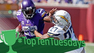 Top 10 Beastly Plays of 2015 | #TopTenTuesdays | NFL