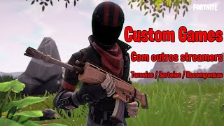 Continuation of the Customs (the other stream Bugou)-Livestream #17 of Fortnite: Battle Royale