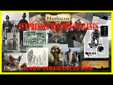 SUPPRESSED HISTORY OF GIANTS; Rare Video Included