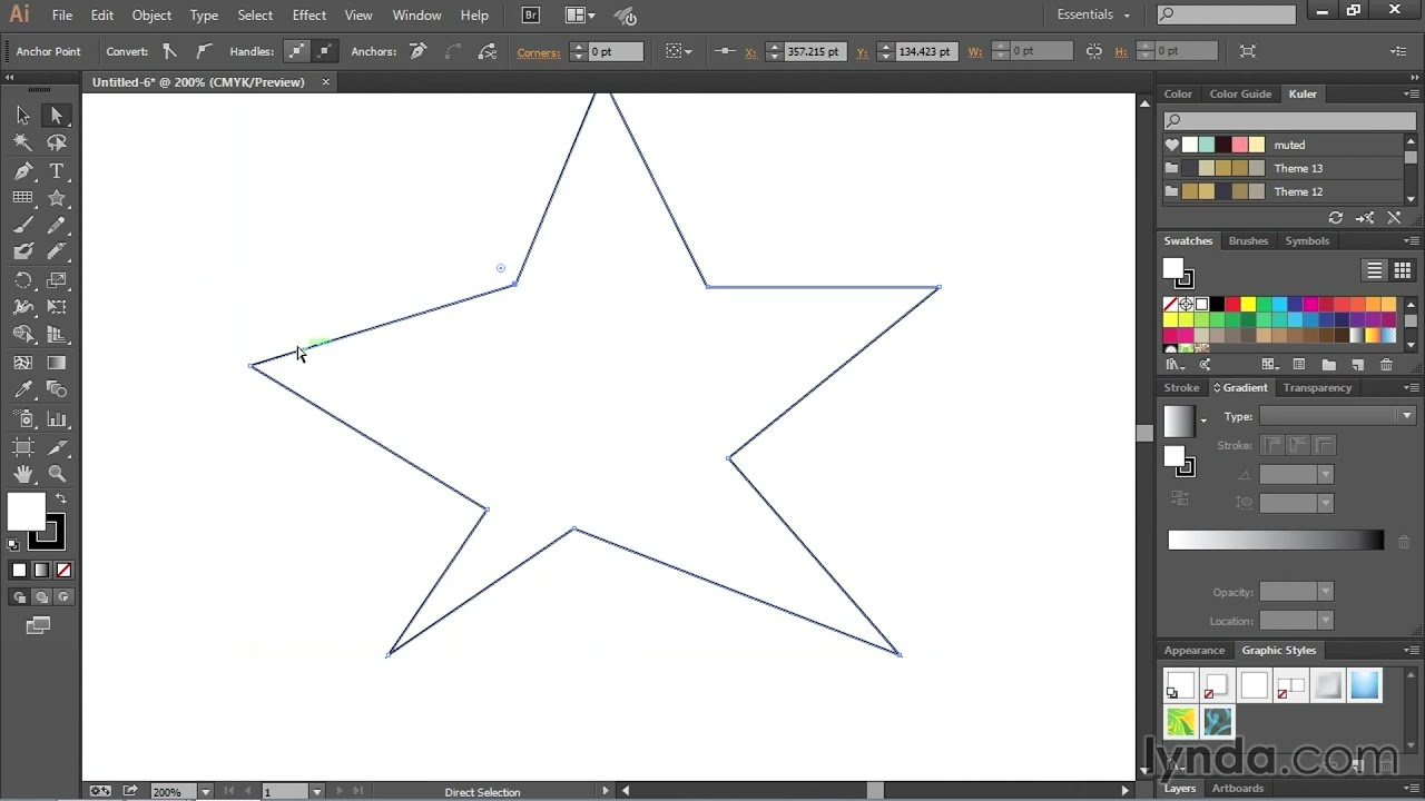 Drawing Lines With Adobe Illustrator : Drawing straight lines with the pen tool adobe