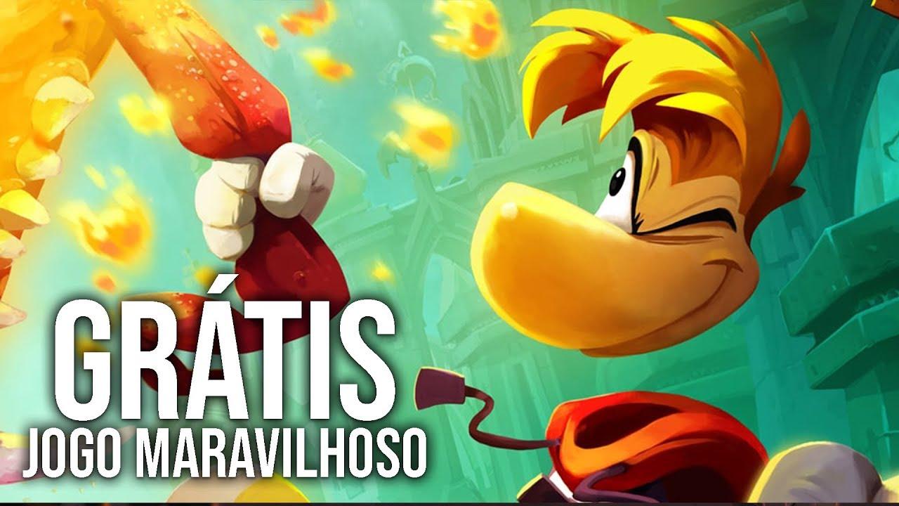 Jogo MARAVILHOSO Está GRÁTIS! | Rayman Legends Gameplay em Português PT-BR