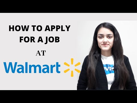 HOW TO APPLY FOR A JOB AT WALMART | INTERNATIONAL STUDENTS | 2020 INTAKE | INDEED | WALMART |