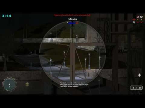 COD2 Sniper server: ^Balber^O using Wallhack (1)