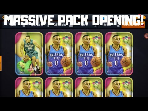 MASSIVE STUFF'S TRIALS PACK OPENING IN NBA LIVE MOBILE 20!!!