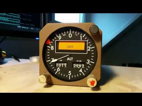 Barometric Altimeter - Arinc 429 - Boeing 767 / 737