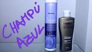PACK: Champú azul para cabellos blancos o rubios ¿Caros o baratos? Thumbnail