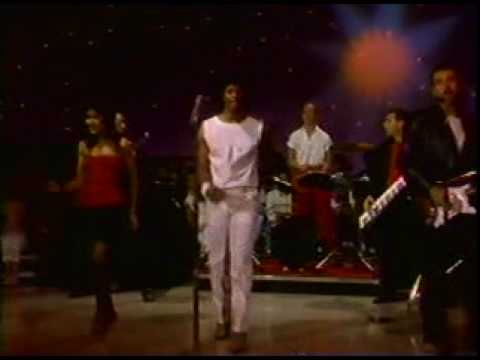 "Champaign ""Try Again"" and ""Let Your Body Rock"" 1983"