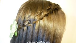 New Hairstyle! Micro Woven Waterfall Twist Braid Tutorial