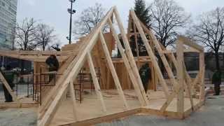 Budowa szopki bożonarodzeniowej 2014
