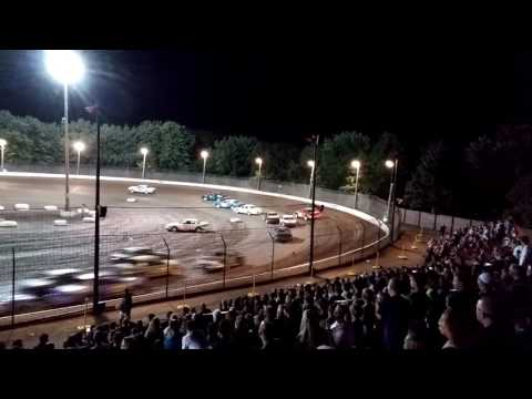 Sycamore Speedway 7/8/16 - 25 cars, 25 laps