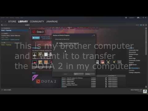LATEST: How To Copy/transfer Dota 2 From Another Computer