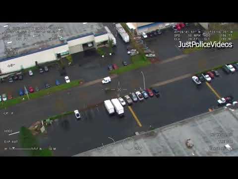 King County, WA Police Chase and Jurisdictional Fighting on Radio