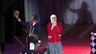 Фрагмент концерта. Гадалка.Мать Алёнушка.Новые Русские Бабки.