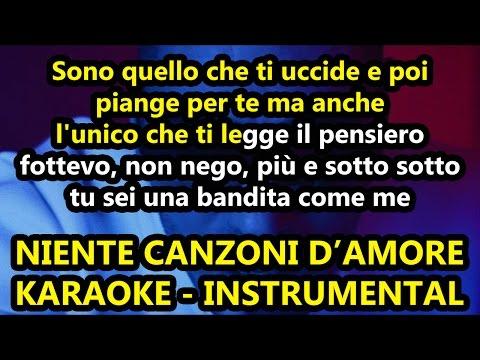 Marracash: NIENTE CANZONI D'AMORE (Karaoke - Instrumental)