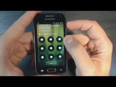Samsung Galaxy Ace 2 I8160 - How to remove pattern lock by hard reset