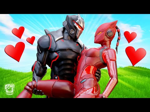 EVIL LYNX FALLS IN LOVE *SEASON 7* - A Fortnite Short Film