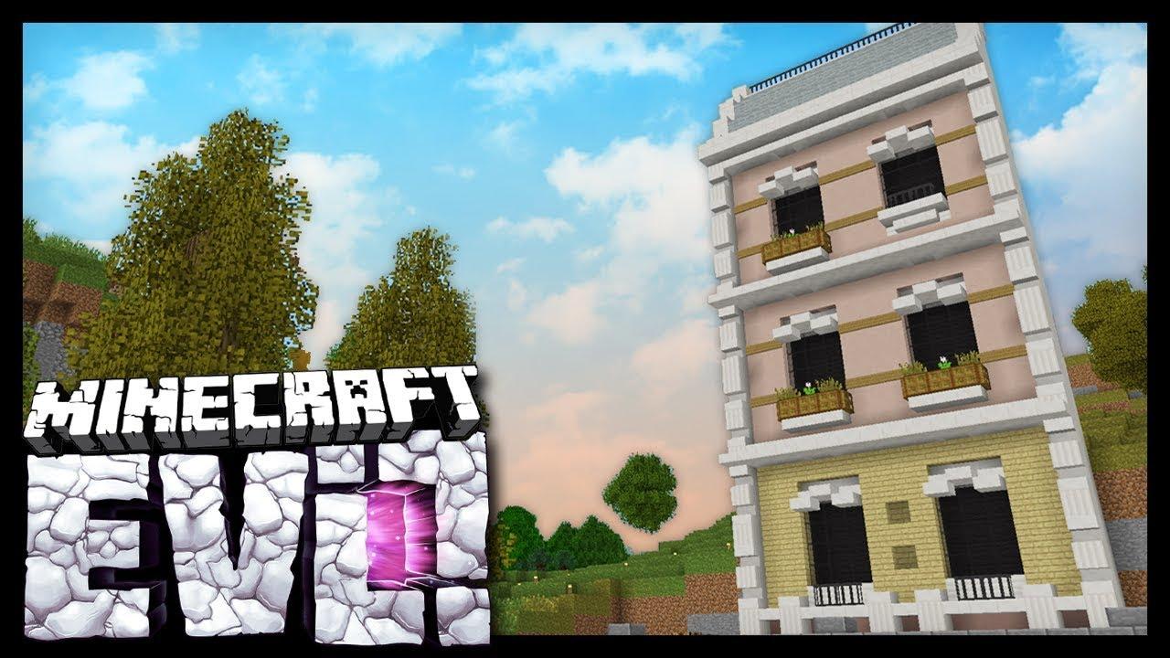NEW BLOCKS DOWNTOWN Minecraft Evolution SMP YouTube - Minecraft namen andern anyart