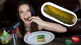 ASMR BIG CRUNCH Test! ASMR Eating Sounds Pickle, Cucumber, Kimchi