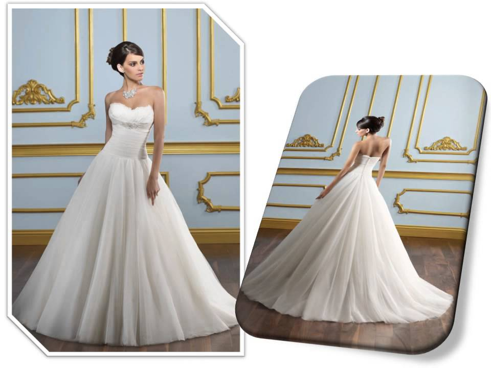 Princess Style Wedding Dresses - YouTube
