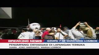 Video Suasana di Bandara Internasional Lombok Saat Terjadi Gempa 7 SR download MP3, 3GP, MP4, WEBM, AVI, FLV Oktober 2018
