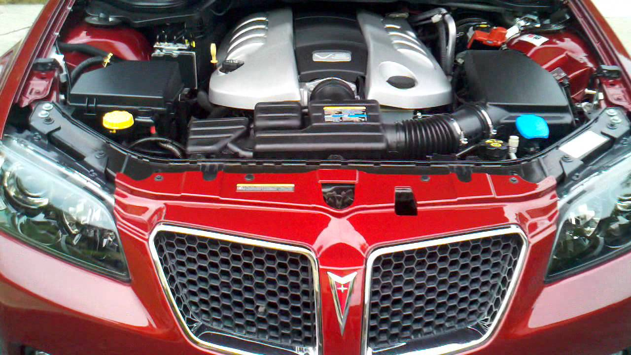 G8 GT Engine Bay  YouTube
