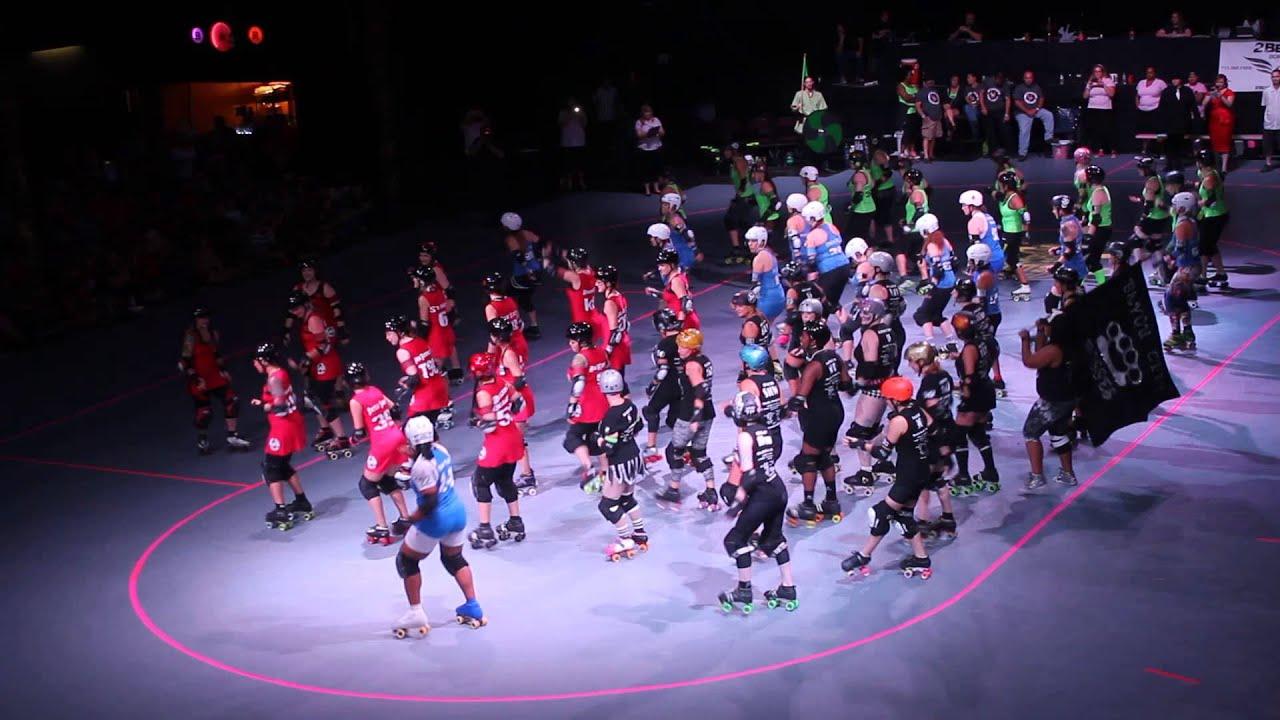 Roller skating houston - Houston Roller Derby 2014 Championships Intro