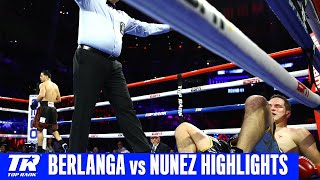 Edgar Berlanga makes it 13 fights, 13 first round knockouts | Fight Highlights