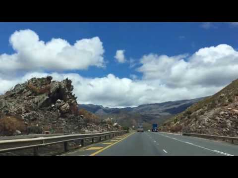 Hit the road; Western Cape South Africa