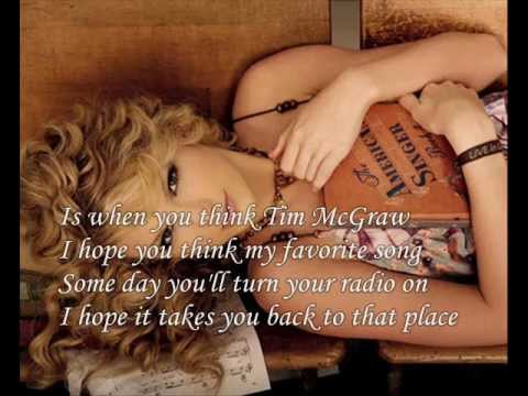 Tim Mcgraw by Taylor Swift my cover Lyric video