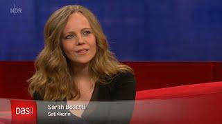 Sarah Bosetti zu Gast bei DAS!