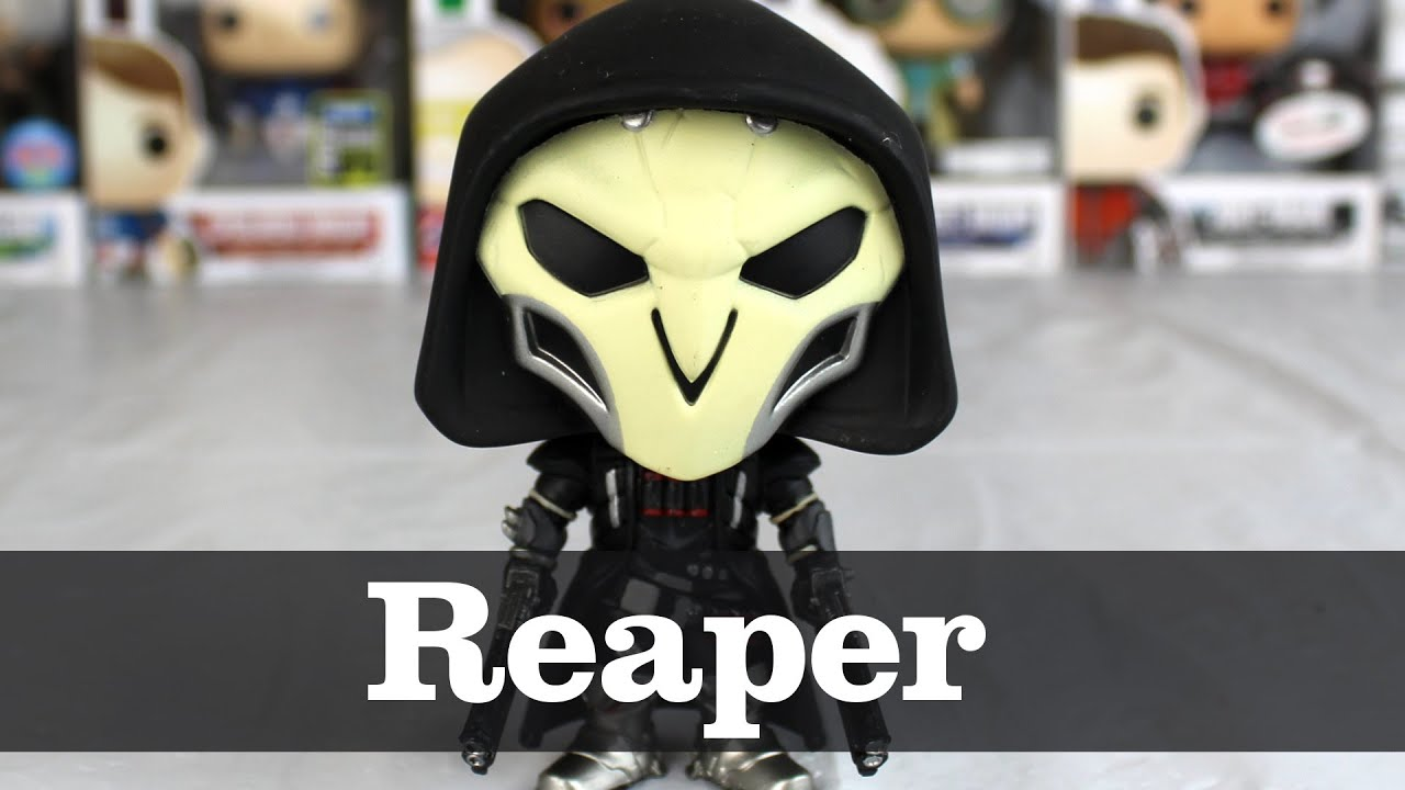Overwatch Reaper Funko Pop Unboxing Youtube