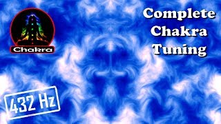 Gambar cover ॐ Awaken Your Spirit ॐ EXTREMELY POWERFUL COMPLETE CHAKRA (1 hour/432hz) Activation/Tuning/Balance